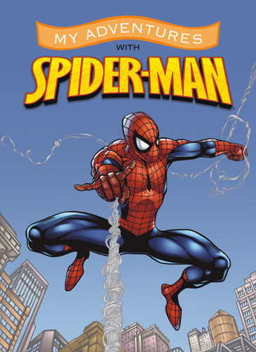 2711_spiderman_personalised_book