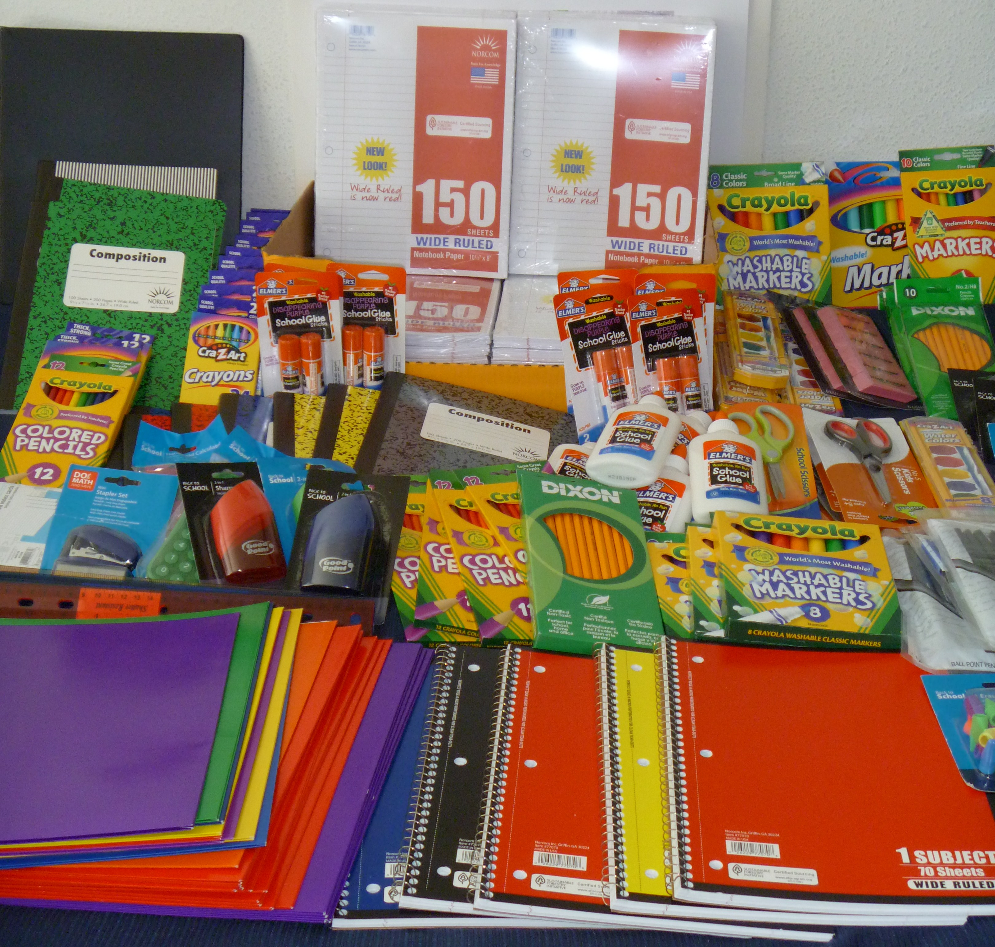 6th Annual Free Back To School Supplies Giveaway Ends