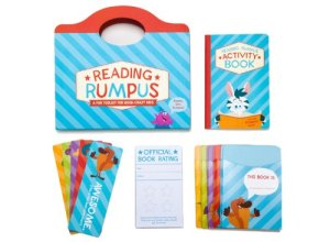 Reading Rumpus Activity Book for Kids